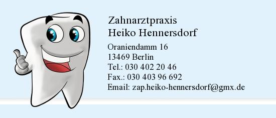 ZAHNARZTPRAXIS HEIKO HENNERSDORF